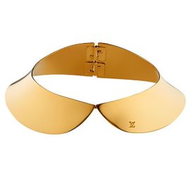 Louis Vuitton metal collar necklace