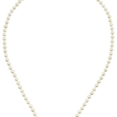 Inez and Vinoodh white Tahitian pearl necklace as seen on Rihanna