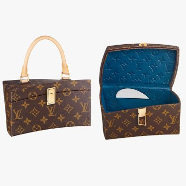 Louis Vuitton Twisted Box handbag as seen on Rihanna