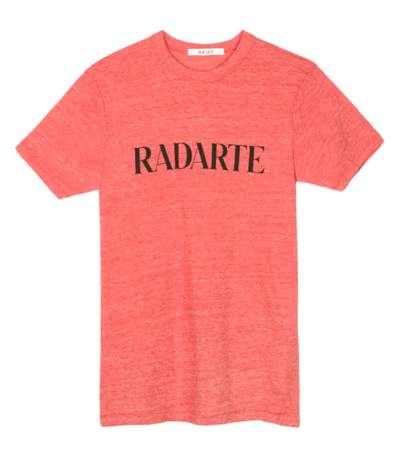 Rodarte Radarte red t-shirt
