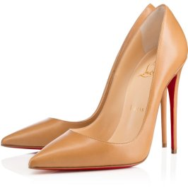 Christian Louboutin So Kate pumps in Nats as seen on Rihanna