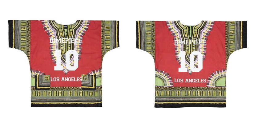 Dimepiece vintage Dashiki print top as seen on Rihanna