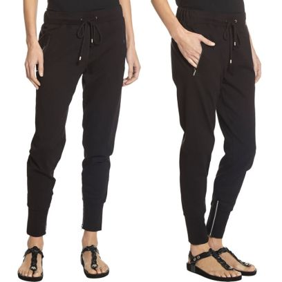 Isabel Marant Tevy sweatpants in black as seen on Rihanna