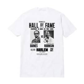 Frank151 x Hall of Fame white Harlem t-shirt as seen on Rihanna