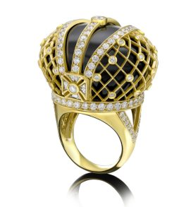 Sybarite Jubilee ring as seen on Rihanna