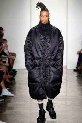 Jessica Walsh oversized down coat as seen on Rihanna