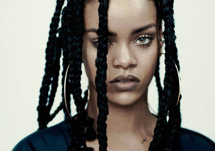 Rihanna in i-D magazine 2015 music issue