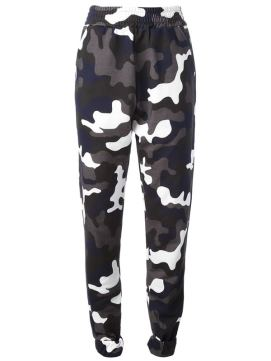 Christopher Kane camouflage sweatpants as seen on Rihanna