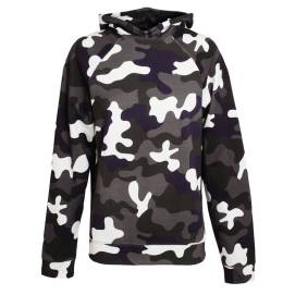 Christopher Kane camouflage hooded sweatshirt as seen on Rihanna