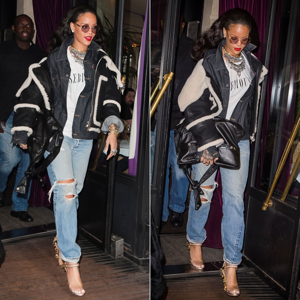 Rihanna In Brashy Couture S Seriously T Shirt
