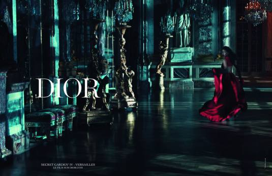 Rihanna for Dior Secret Garden IV campaign