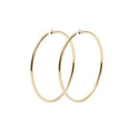 Jennifer Fisher 3 inch square hoop earrings as seen on Rihanna