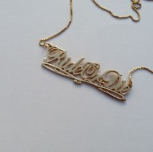 MALA by Patty Rodriguez Ride or Die necklace as seen on Rihanna