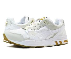 Puma Trinomic XT2 sneakers in white/white as seen on Rihanna