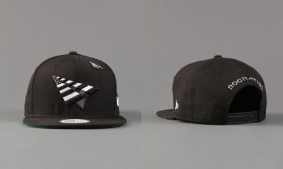 Roc Nation x New Era old school snapback cap as seen on Rihanna