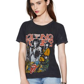 Rolling Stones vintage US 78 tour t-shirt as seen on Rihanna
