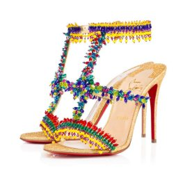 Christian Louboutin Devibroda beaded sandals