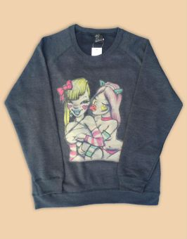 Fafi x Faline sweatshirt as seen on Rihanna