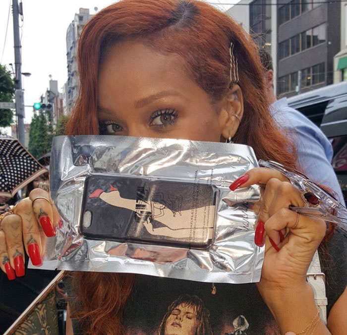 Rihanna and Giza by NaNa-NaNa iphone 6 high heels case