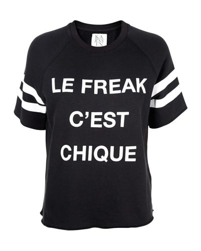 Zoe Karssen Le Freak C'est Chique sweatshirt as seen on Rihanna