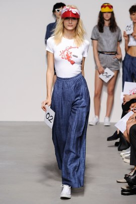 Adam Selman Spring 2015 logo t-shirt as seen on Rihanna
