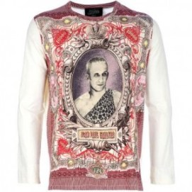 Jean Paul Gaultier long-sleeved t-shirt as seen on Rihanna