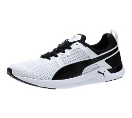 Puma Pulse XT Geo training shoes in black/white as seen on Rihanna