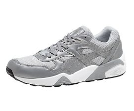 Puma R698 limited edition reflective Trinomic sneakers as seen on Rihanna