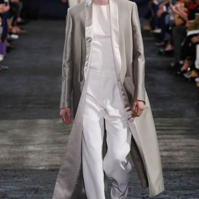 Maison Margiela Spring 2016 menswear as seen on Rihanna