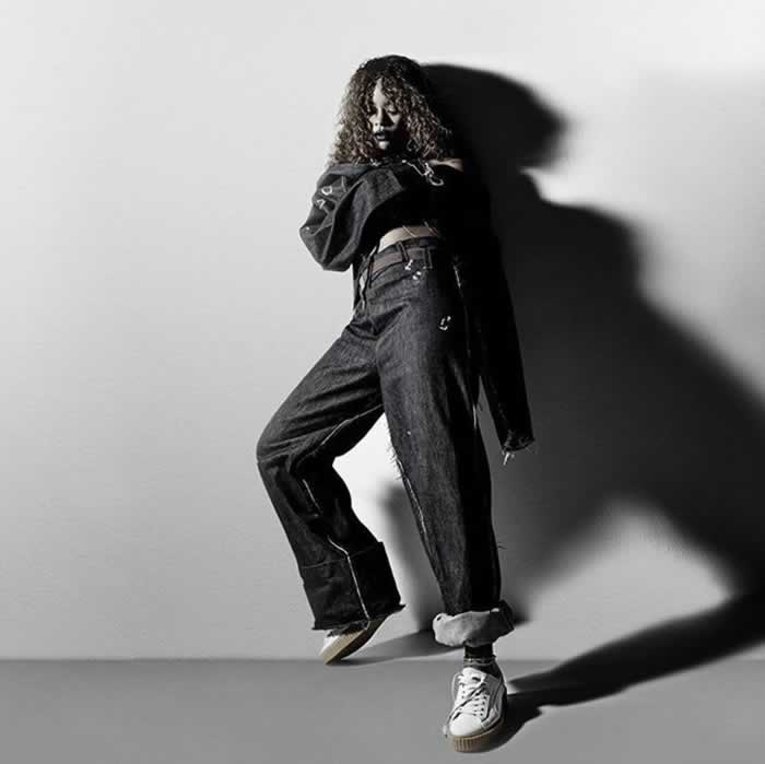 Puma by Rihanna suede creepers campaign
