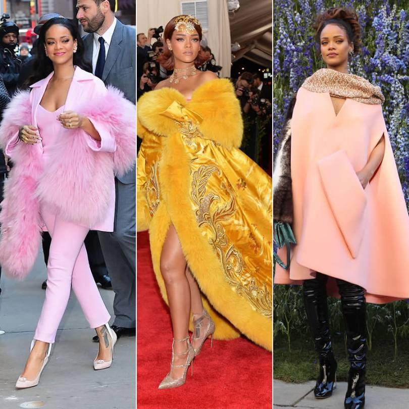 Rihanna best red carpet and appearance outfits of 2015