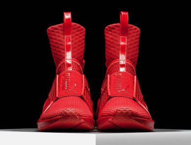 Rihanna Fenty x Puma Trainer sneakers in Red Alert