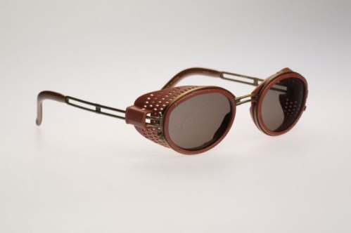 Jean Paul Gaultier vintage 56-6201 side shield sunglasses as seen on Rihanna