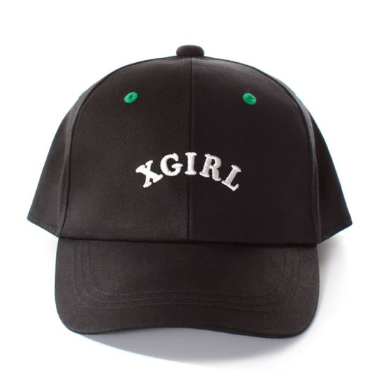 X-girl logo snapback cap as seen on Rihanna