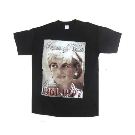 Vintage Princess of Wales Diana t-shirt by Bay Club as seen on Rihanna
