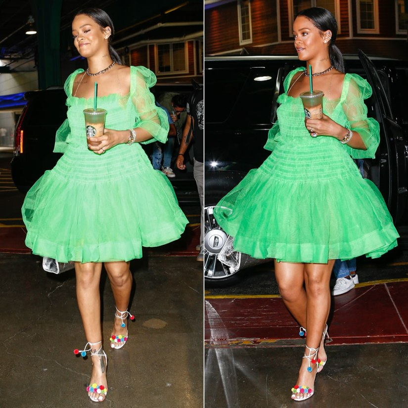rihanna-molly-goddard-tulle-dress-nyc
