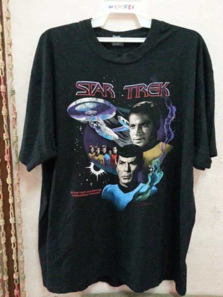 Star Trek vintage movie t-shirt as seen on Rihanna