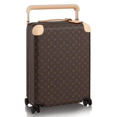 Louis Vuitton Horizon 55 monogram rolling case as seen on Rihanna