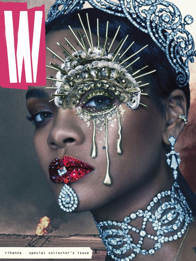 Rihanna W Magazine September 2016 issue