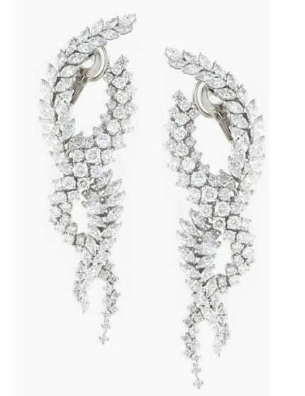 Yeprem Mistress collection diamond earrings as seen on Rihanna