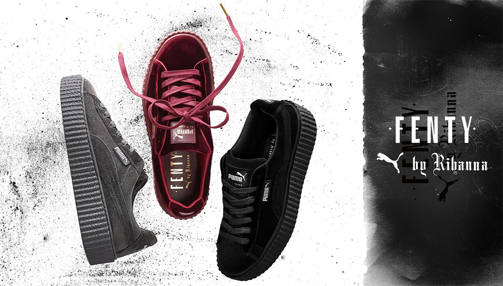 low priced 8d26a c6976 Fenty x Puma Velvet Creepers Coming December 8 - Haus of Rihanna