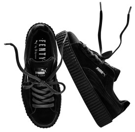 Fenty x Puma velvet Creeper in Black