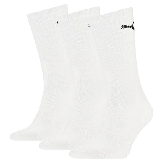 Puma white crew socks as seen on Rihanna