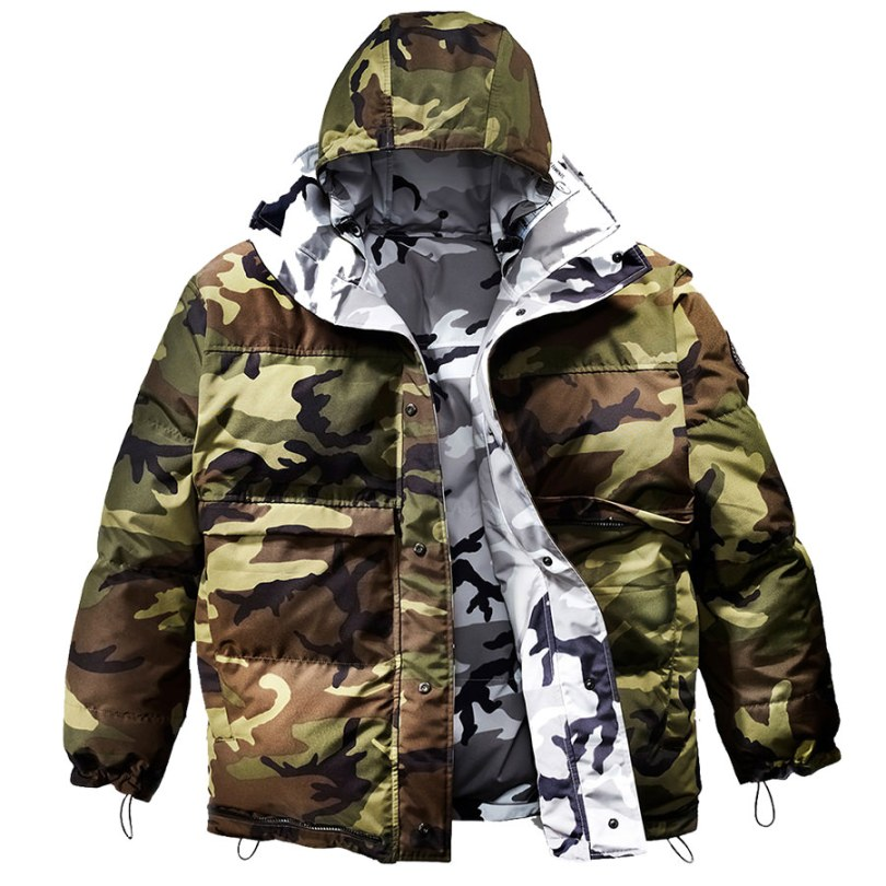 Vetements x Canada Goose reversible camo parka jacket