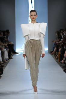 Alexandre Vauthier Haute Couture Fall 2009 white jacket as seen on Rihanna in Hard video