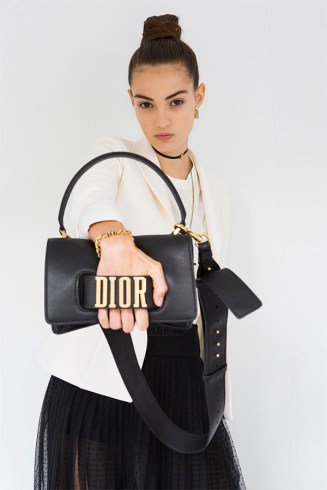 Dior Spring 2017 handbag as seen on Rihanna