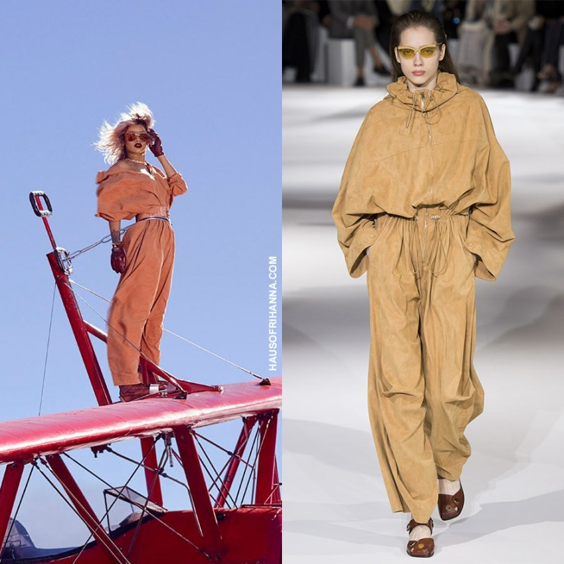 Rihanna Harpers Bazaar March 2017 Stella McCartney Spring 2017 jumpsuit
