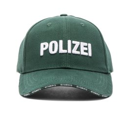 Vetements green Polizei cap as seen on Rihanna