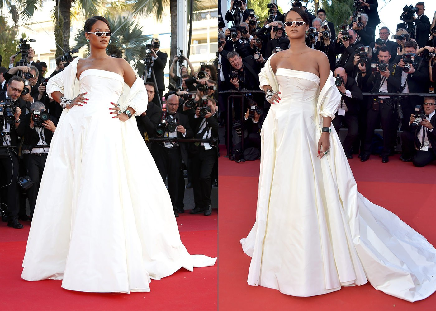 Rihanna in Dior at Cannes \