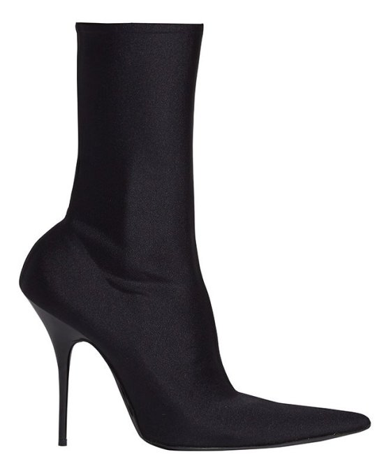 Balenciaga Knife pointed-toe ankle boots as seen on Rihanna